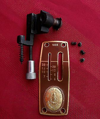 ADJUSTABLE STITCH CONTROL,+ FACE PLATE,FOR VINTAGE SINGER 1950s SEWING MACHINE