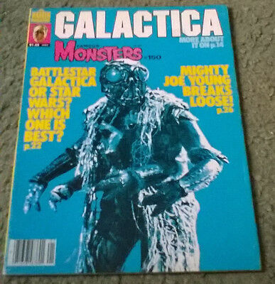 famous monsters of filmland #150,jan 1979,high grade vf condition,bagged