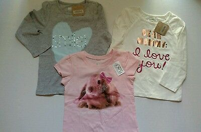 NEW 3 piece lot toddler girl clothing 2t Children's place/ crazy 8