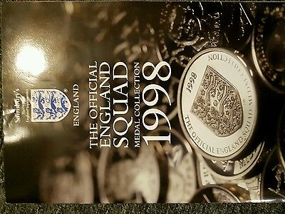 official england squad medal collection