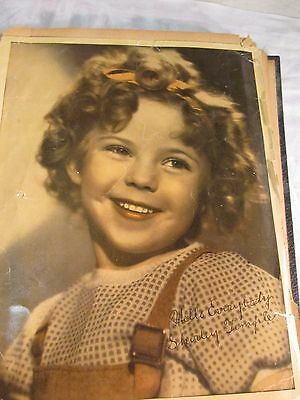 VINTAGE 1930's SHIRLEY TEMPLE SCRAPBOOK 70 PAGES PHOTOS CLIPPINGS & MEMORABILIA