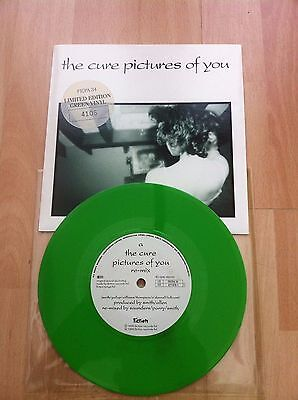 "The Cure Pictures of You green 7"" single"