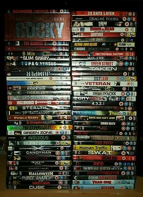 Joblot Of 60+ Dvd's - Personal Collection - Carboot - Market