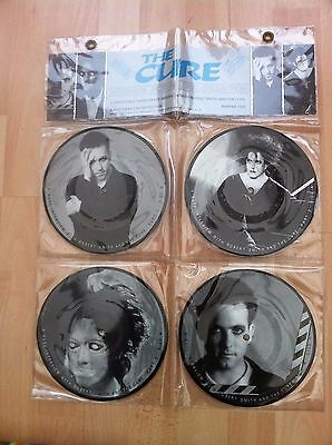 The Cure 4 picture disc interview pack