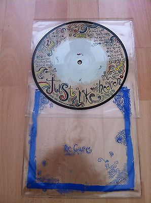 "Just Like Heaven 7"" picture disc by The Cure"