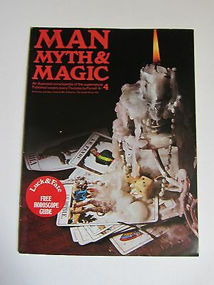 MAN, MYTH & MAGIC # 4 Luck and Fate, Purnell 1970s Magazine
