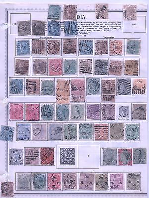 India stamps lot 1854-1940