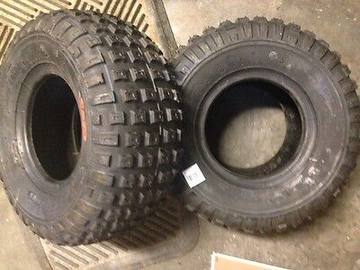 Two (2) Go Kart Tires - 145 / 70-6 CST tubeless