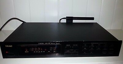 Teac T-X150 Am/fm Stereo Tuner 20 Station Memory - Pat Safety Tested