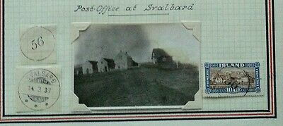 ICELAND Postal History Study: Early Post Office SVALBARD