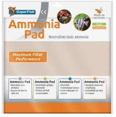 SuperFish Filter Media Ammonia Pad 45x25cm Replacement Cut To Size