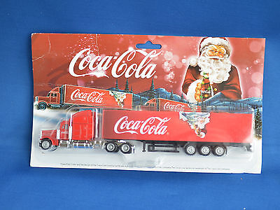 Coca Cola Holidays are coming Truck with Santa New Diecast