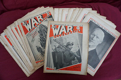The WAR ILLUSTRATED WW2 X 20 MAGAZINES, Vol 1 complete 1939 - 1940, no's 1-20