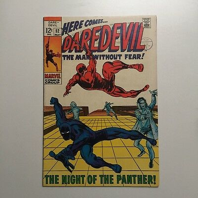 Daredevil 52 - Black Panther - Barry Smith