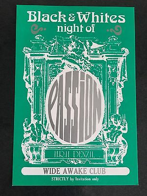 Rave Flyers Passion 1992