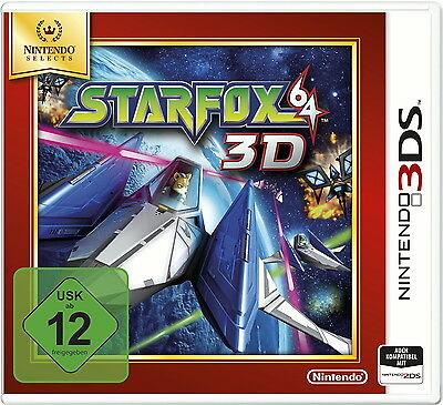 StarFox 64 3D (Nintendo 3DS, 2011, Keep Case)