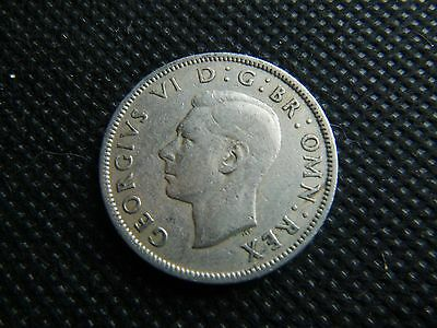 GB coin 1951 KGVI Florin Two Shilling 2/- coin    Nice circulated condition