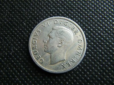 GB coin 1949 KGVI Florin Two Shilling 2/- coin    Nice circulated condition