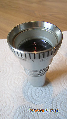 """Bell & Howell Super Proval f/1.6 2"""" 2 inch Projection Lens for 16mm Projector"""