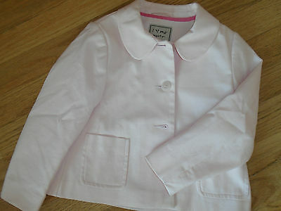 Girls Jacket Dress Jacket Next 5-6 Years Pale Pink