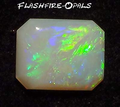 Gem Olympic Field Solid Opal Grün-Gold-Blau 1,3 Ct Video  Flashfire-Opals