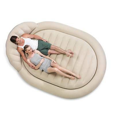 New Bestway Inflatable Comfort & Quest  Royal Round Mattress / Air Bed (#67397)