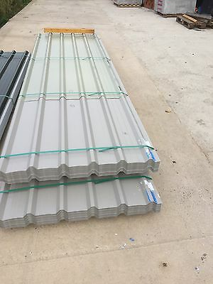 Brand New 10ft Goosewin Grey Galvanised Roofing Sheets