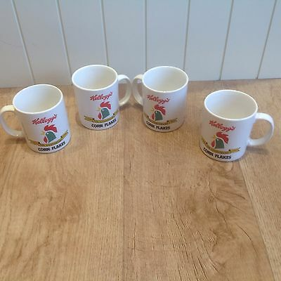 Set Of 4 Kelloggs 70th Anniversary Mugs. 1924. - 1994