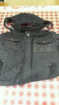Boys M&S Autograph Winter Coat Age 1.5 -2 Years