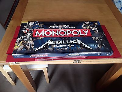 Metallica Monopoly Collector's Edition new and sealed original 2012 release