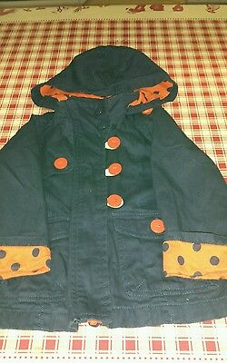 Girls Next Hooded Coat Age 2-3 Years