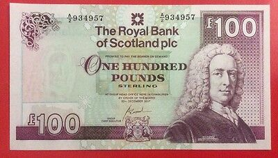 Royal Bank Of Scotland £100 Note Uncirculated. 2007.