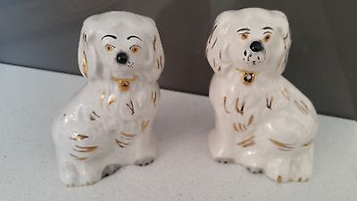 Pair of Fabulous vintage miniature Beswick Wally dogs 1378 - 7, 3.5 inches