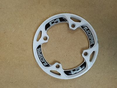 Blackspire C4 Chain Ring Device Guide Bash Guard - White USED 057