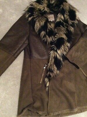 RIVER ISLAND Girls STUNNING Winter Coat Age 12 Years EXCELLENT CONDITION