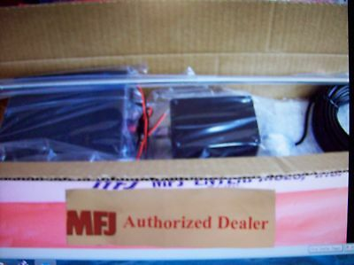 """MFJ 1024 - 54 """" SWL ACTIVE OUTDOOR ANTENNA - New Covers 50KHz to 30MHz."""