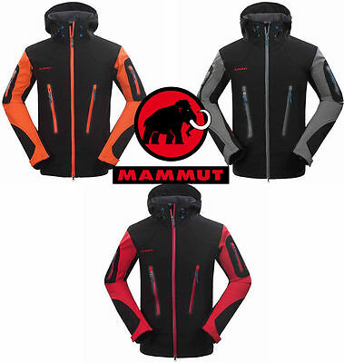 Chaqueta Mammut Softshell Hombre - Waterproof Windproof Thermal Jacket