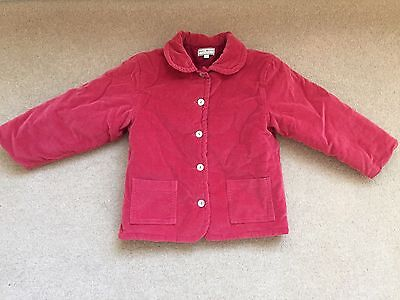 Darcy Brown Girls Pink Warm Winter coat Age 4 Years