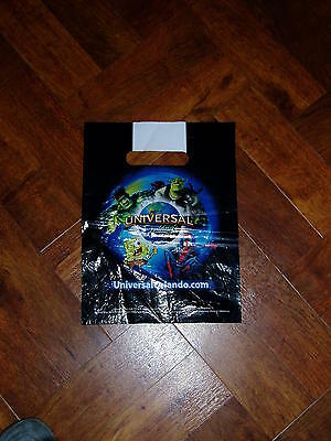 UNIVERSAL ORLANDO RESORT MARVEL SMALL Plastic Carrier Bag Approx 21x28cm