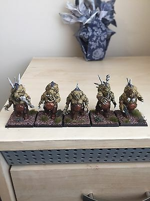 5x Age Of Sigmar Flesh Eater Courts Converted Crypt Horrors