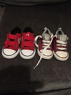 2 Pairs Of Converse Size 7