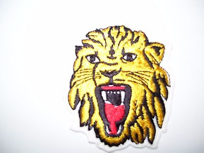 embroidered patch crest tiger 3x3 inch