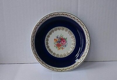 Small Plate Ducal Crown Ware England