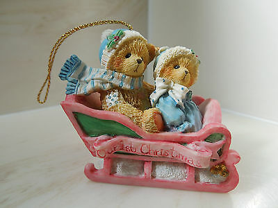 Cherished Teddies Our First Christmas 617229 1994