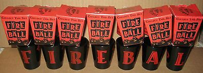 (7) NEW FIREBALL Shot Glasses New in Box
