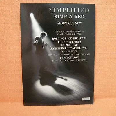 Simply Red – Simplified Flyer