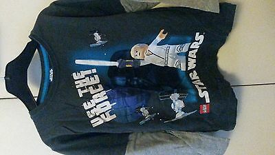 tee shirt lego star wars taille 5/6 ans