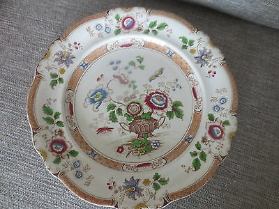 """Early  R.W. & B   Opaque Stone China Plate No24  -11""""diameter"""
