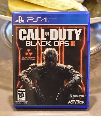 Call of Duty: Black Ops III PS4 (Sony PlayStation 4, 2015)