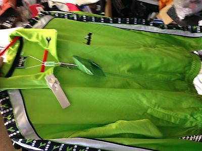 Diadora Tracksuit Top Lime Brightat £18 All Sizes Small  34/36